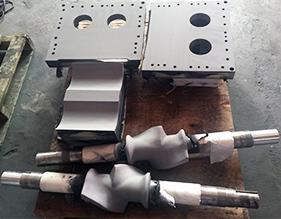 Internal mixer tungsten carbide coating
